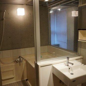 トイレ・お風呂・居室が見通せます
