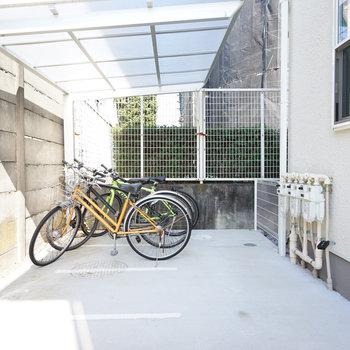 駐輪場は無料で使えます◎