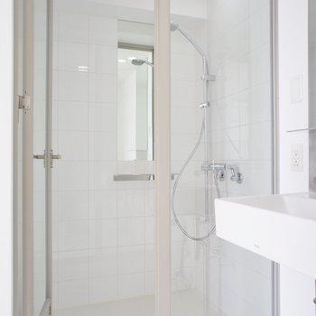 シャワールームかー