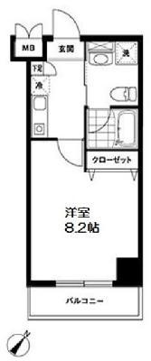AZALEA恋ヶ窪Ⅱ の間取り