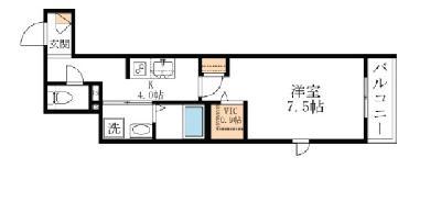 仮)西早稲田3丁目河合マンション の間取り