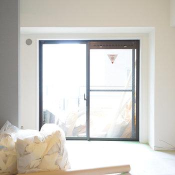 こちら寝室!明るさ◎※写真は工事中です