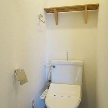 トイレはウォシュレット付きに一新※写真はイメージです