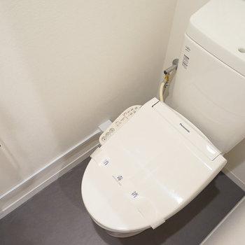 トイレも交換済み! ※前回募集時の写真です