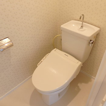 トイレも問題なくキレイ