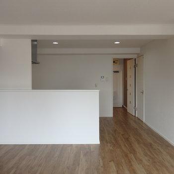 対面式カウンターキッチンがある部屋、いいですね
