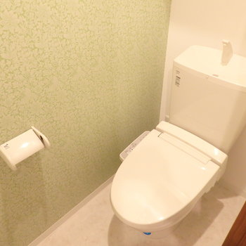 爽やかなトイレ