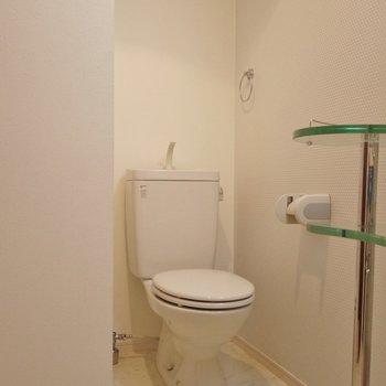 トイレは同室のアメセパタイプ。※写真は前回撮影時のもの