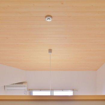天井のウッドが素敵。※写真は前回募集時のもの。
