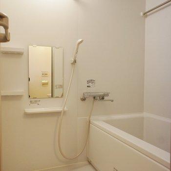 浴室乾燥もついていますし。※写真は前回募集時のものです。