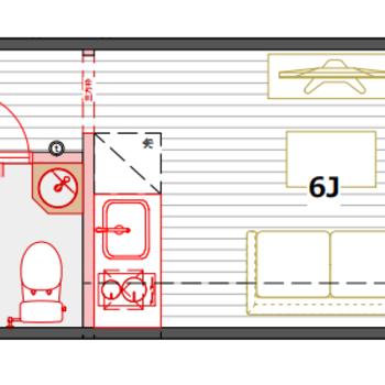 ミニマリストにおすすめの収納スペースは最小限にお部屋を広くとったBタイプ