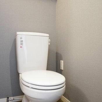 トイレは脱衣所と一緒に※写真は402号室