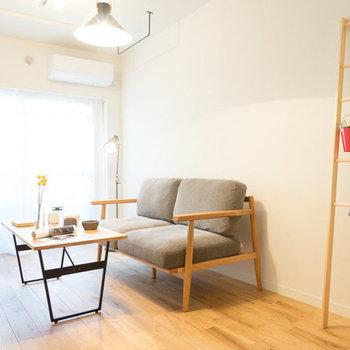 家具のレイアウトもこちらで確認を※写真は201号室