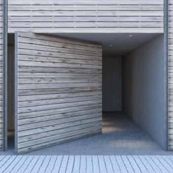 重厚感のある扉の奥にはオートロックとセキュリティ面も整っていきます※写真はイメージ