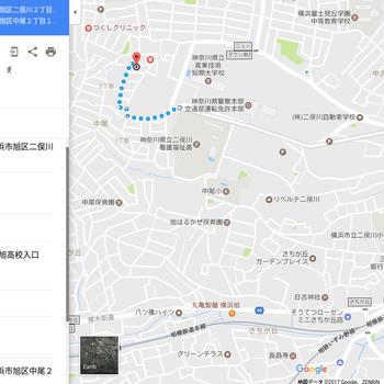 バスは二俣川駅から2種類あります