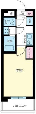 メゾン・ド・ヴィレ高円寺 の間取り