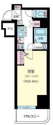 横浜平沼ダイカンプラザ三号館 の間取り