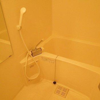 お風呂は使用感あり(※写真別室)