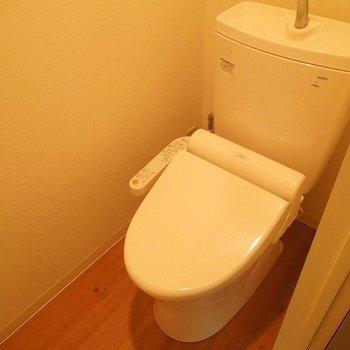 トイレはウォシュレット完備(※写真別室)