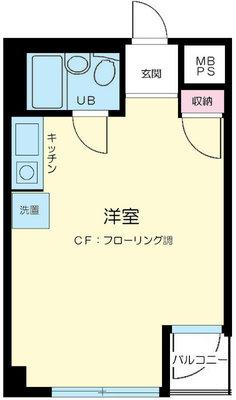 ライオンズマンション西新宿第6 の間取り
