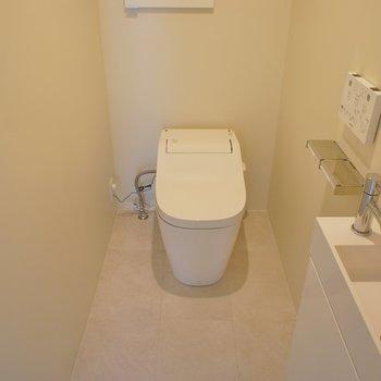 トイレは手洗いつき