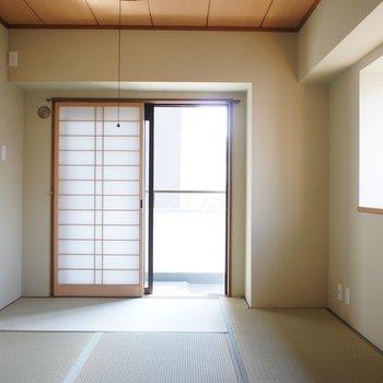明るい和室は幸せ