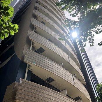 13階建ての大きな建物です