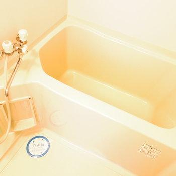 浴槽は綺麗でした!※写真は11階の同間取り別部屋のものです