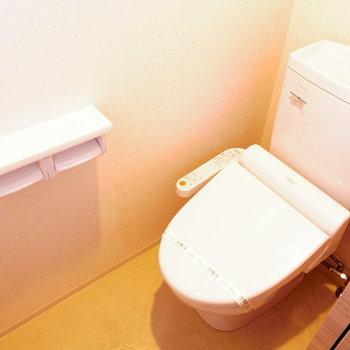 温水洗浄付き◯※写真は11階の同間取り別部屋のものです