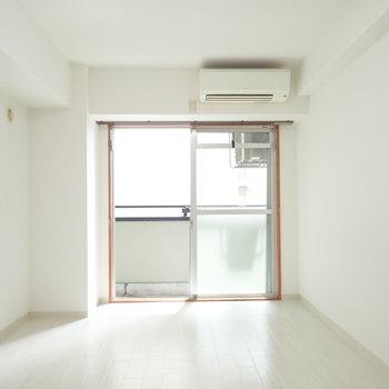 白いですね。※写真は同間取り別部屋のものです。