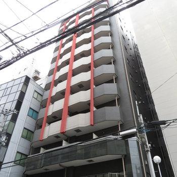立派なコンクリートのマンションです