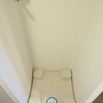 洗濯機はキッチンの隣に