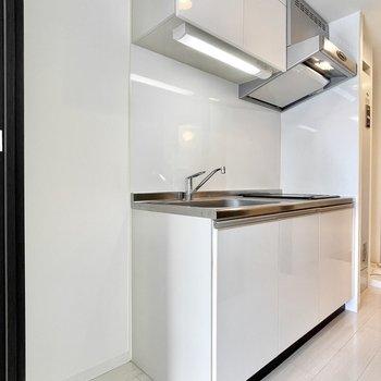 冷蔵庫スペースがあるのはうれしいポイント◎