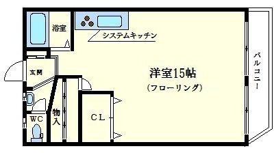 サンマンション新大阪 の間取り