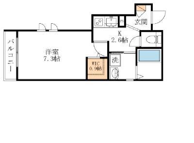 仮)浜田山2丁目マンションA の間取り