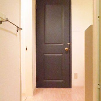 ドアもこんなに可愛いんです。