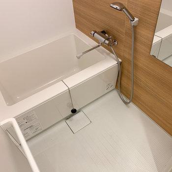 浴室も広い!