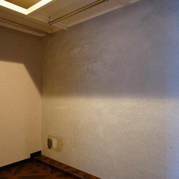 収納は大きなWICがあるんですよ!※写真は7階の同間取り別部屋のものです。