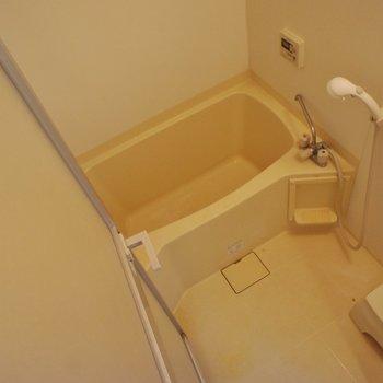 お風呂はちょいとコンパクト