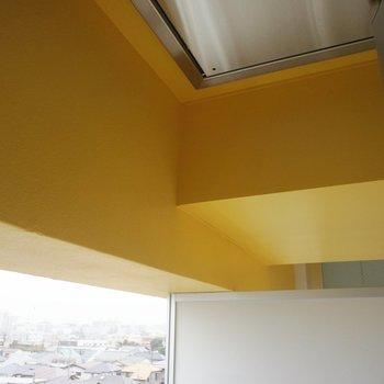 黄色いアクセントがキュート!