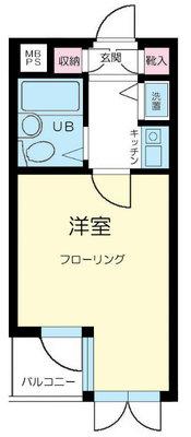新高円寺ダイカンプラザCity の間取り