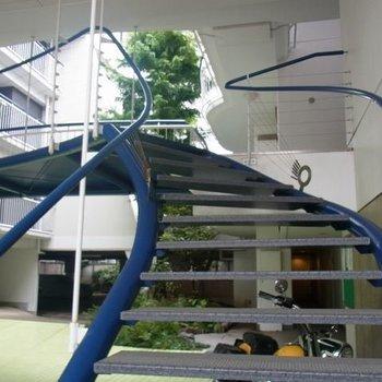 幸せの青い階段