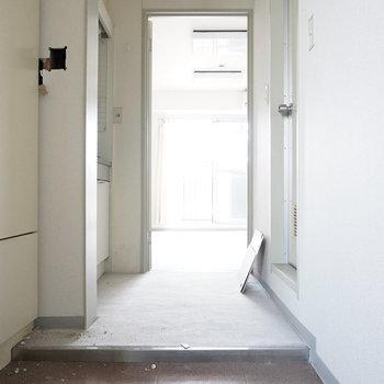 ゆったり玄関です※写真は工事前です