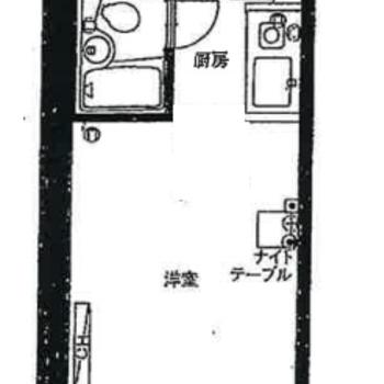 3点ユニットからバス・トイレ別の間取りに※間取り図は工事前