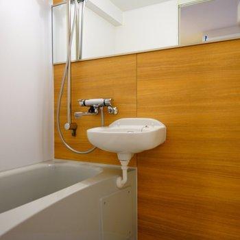 お風呂と洗面台のセットのお風呂に写真はイメージ