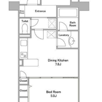 DKと寝室と…DEN!