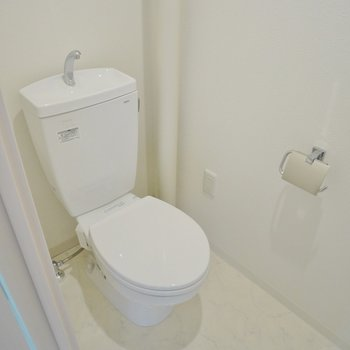 清潔感のあるトイレ★※写真は前回募集時のもの。
