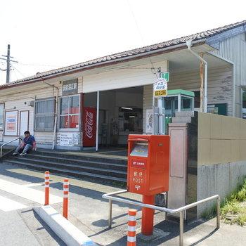 ノスタルジックな駅。