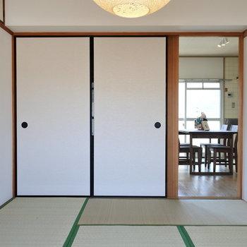 和室ってほっこりしていいよね。