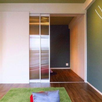 個室①引き戸で繋がっているので、用途に合わせて自由自在!